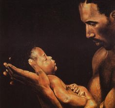 Image detail for -Fatherly Love Art Collection - Black Father Art - Fathers Day Art