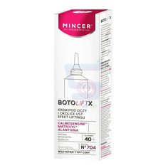 Mincer BotoLiftX 40 + Krem pod Oczy i Okolice Ust No704 15ml - od 15,98 zł, porównanie cen w 9 sklepach. Zobacz inne Kosmetyki pod oczy, najtańsze i najlepsze oferty, opinie.
