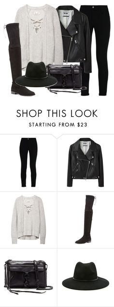 Untitled #688 by demimarina on Polyvore featuring Acne Studios, STELLA McCARTNEY, Stuart Weitzman, Rebecca Minkoff and Forever 21