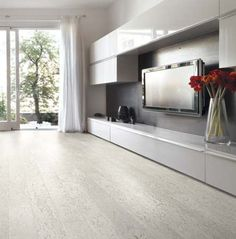 White Cork Flooring
