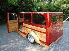 Re:Vamped Willys Wagon @ beach Old Vintage Cars, Vintage Trucks, Old Trucks, Pickup Trucks, Willys Wagon, Jeep Willys, Jeep Scout, Jeep Truck, Jeep Jeep