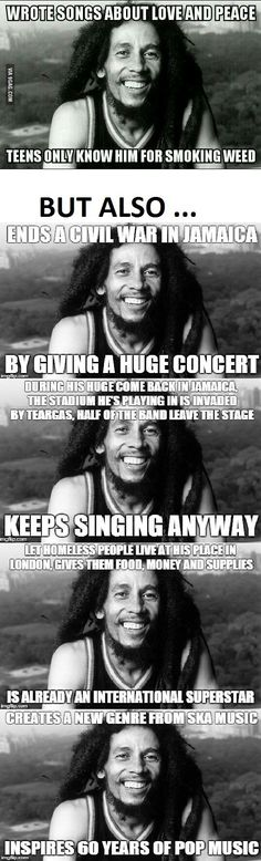 "thelayback: "" "" lomasdope: "" This was Mr. Bob Marley "" you mi. thelayback: "" "" lomasdope: "" This was Mr. Bob Marley "" you might know… Robert Nesta, Nesta Marley, Bob Marley Quotes, Bob Marley Lyrics, Memes, Faith In Humanity Restored, First Love, My Love, Reggae Music"