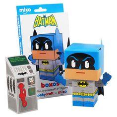 Funko Papercraft DC Batman Boxos 4″ Figure http://popvinyl.net #funko #funkopop #popvinyls