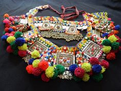 Tribal belts by OOAKShowroom on Etsy