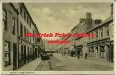 Co Armagh - a view of Thomas Street, Armagh c 1910