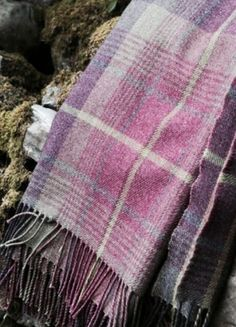 Cairngorm wool/cotton throw, woven in Scotland by Anta. Mauve, Rowan Felted Tweed, Textiles, All Things Purple, Cotton Throws, Shades Of Purple, Plum Purple, Purple Rain, Periwinkle