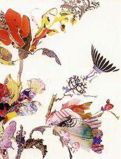 "Saatchi Online Artist susan strangio; Assemblage / Collage, ""weeds of my dreams"" #art"