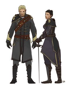 Cullen and Cassandra, Dragon Age/The Order: 1886