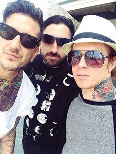 Austin Carlile, Valentino Arteaga, Alan Ashby #ofmiceandmen