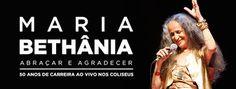 50 ANOS DE CARREIRA DE MARIA BETHÂNIA EM PORTUGAL