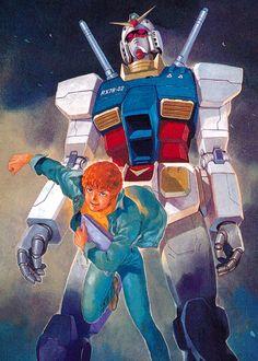 画像 : 安彦良和『ガンダム THE ORIGIN』のアートな画像【27枚】 - NAVER まとめ ガンダム The Origin, Samurai, Japanese Robot, Japanese Superheroes, Zeta Gundam, Gundam Wallpapers, Gundam Art, Mecha Anime, Oriental