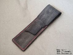 Füllfeder-Etui aus Leder von 3wunder / Leather Pen Pouch by 3wunder