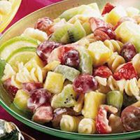 Fruity Pasta Salad - This is really a fresh tasting, pretty salad!! Great take-along with cold chicken for a picnic!!