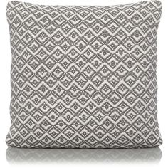 Grey Diamond Textured Cushion   Home   George