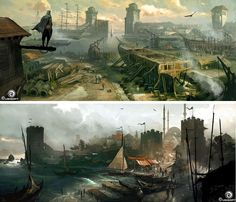 Artes de Dechambo para Assassin's Creed Revelations | THECAB - The Concept Art Blog