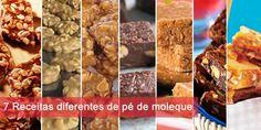 7 Receitas com amendoim: de Pé de Moleque, Doce de amendoim, Fudges de chocolate