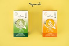 Pour, mix, sip, enjoy hot!☕ Sip your way to wellness with these Navitas Organics Superfood Lattes which are a delicious combination of Turmeric or Matcha alongside creamy coconut oil powder 🥥 for a warm, comforting pick-me-up. These lattes are deliciously simple: just mix one packet with 8oz hot water or plant milk of choice.   10 pack Navitas Featured in Vegancuts June Snack box. Customers will receive 1 of 2 flavors.  Great source of energy and fuel plus these mixes are keto & paleo-friendly.