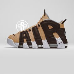 Nike Air More Uptempo Vachetta Tan
