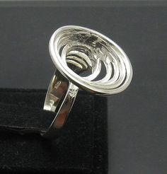 Stylish Extravagant STERLING SILVER Ring by EmpressSilver