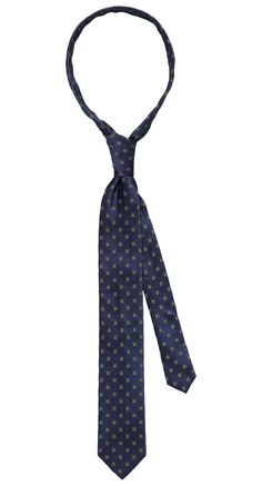 Tie dark blue/green pattern. Shop here: http://www.vangils.eu/en/ties