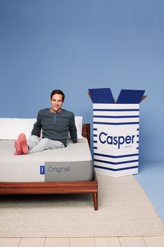 The Casper® Original Hybrid Mattress provides the perfect combination of support and cooling + springs for added lift and airflow. #mattress #bed #home #sleep #denvermattress Casper Mattress, Best Mattress, Sleep Better, Good Sleep, Custom Mattress, Platinum Credit Card, Box Bed, Consumer Products, Indoor Air Quality