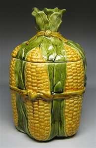 Corn cookie jar