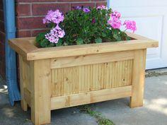 Large Wooden Planters, Wooden Garden Planters, Wooden Planter Boxes, Cedar Planters, Wood Planter Box, Outdoor Planters, Diy Planters, Flower Planters, Outdoor Decor
