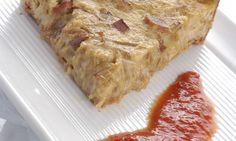 Receta de Tarta de cebolla y panceta
