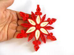 Decorazione di Natale ornamento di Natale di HandmadeByLaviniaC