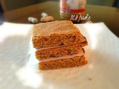 Peanut/Almond Butter Blondies – SCD | Primal | Paleo | GAPS | SCD foodie - Recipes and Meal Plans
