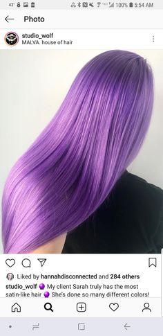 Purple Ombre, Hair, Strengthen Hair