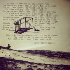 My drawing of the wright brothers first flight, and then i used my typewriter to apply a quote.