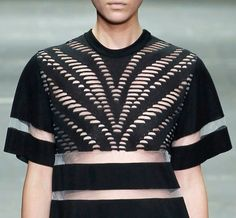 Alexander Wang at New York Fashion Week s/s 2013 details.