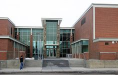 SHADLE PARK HIGH SCHOOL THEATRE- EXTERIOR VIEW