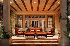 Nothing less than perfect Dream Home Design, My Dream Home, House Design, Dream Homes, Outdoor Living Areas, Outdoor Spaces, Outdoor Decor, Outdoor Patios, Living Spaces