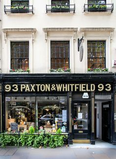 Paxton and Whitfield in London's Jermyn Street is the oldest cheese shop in Britain, founded in 1742 and Queen Elizabeth buys her cheese here