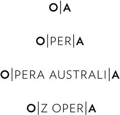 Brand New: New Logo and Identity for Opera Australia by Interbrand Sydney  Found: https://www.facebook.com/pages/OMGbrandme/236112833194819