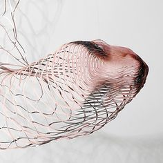 -Justine Khamara-  (detail) Distortion Photography, Motion Photography, Amazing Photography, Portrait Photography, Food Sculpture, Contemporary Sculpture, Stop Motion, Mixed Media Art, New Art