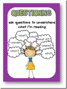 free comprehension strategy posters   love!