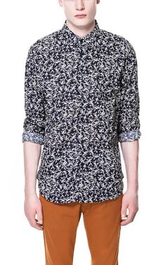 Image 1 of SHORT-SLEEVE PRINTED T-SHIRT from Zara | tshirt ...