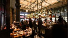 A Mediterranean restaurant in a NoHo historic district building marks chef Bobby Flay's return to downtown New York. Industrial Interior Design, Industrial Interiors, Cellar Inspiration, Chef Bobby Flay, Rockwell Group, Downtown New York, Hospitality Design, Open Kitchen, Interior Design Inspiration