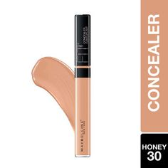 Maybelline New York Fit Me Concealer - 30 Honey: Buy Maybelline New York Fit Me Concealer - 30 Honey Online at Best Price in India | Nykaa Corrector Concealer, Too Faced Concealer, How To Apply Concealer, Concealer Brush, Waterproof Concealer, Free Makeup Samples, Acne Blemishes, Beauty Book