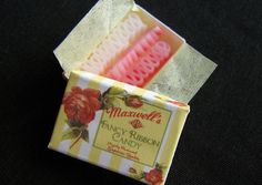 Really small ribbon candy by goddess of chocolate