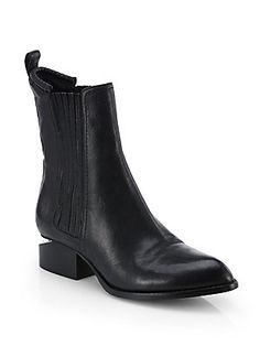 Alexander+Wang Anouk+Leather+Chelsea+Boots   I need these in my life, immediately