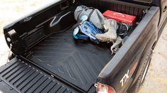 Genuine Toyota Tacoma Short Bed Mat PT580-35050-SB. Genuine Toyota Accessories.