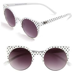 Quay Retro Sunglasses Jelly Turq One Size ($38) ❤ liked on Polyvore