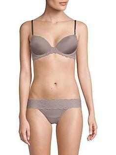 d6bb933c9 Calvin Klein Underwear - Seductive Comfort with Lace Demi Bra