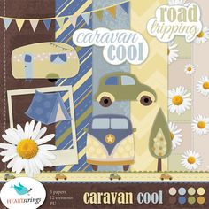 Caravan-Cool-PREVIEW Entered my first scrap kit contest!