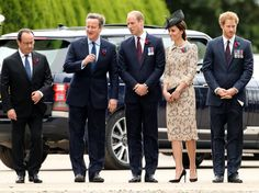 Pin for Later: The Duchess of Cambridge, Prince William, and Prince Harry Step Out For an Important Cause in France