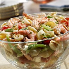 This hearty main dish pasta salad from the sea tastes of cumin, cilantro and the bold flavors of Pace®.